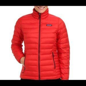 Patagonia Women's Down Sweater Jacket Red, M